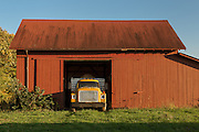 Potato Truck & Red Barn<br />