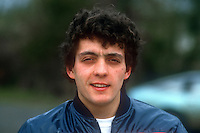 Tony Scarlett, motorcycle trials rider, England, March, 1986, 19860306TS<br /> <br /> Copyright Image from Victor Patterson, 54 Dorchester Park, <br /> Belfast, UK, BT9 6RJ<br /> <br /> t1: +44 28 9066 1296 (from Rep of Ireland 048 9066 1296)<br /> t2: +44 28 9002 2446 (from Rep of Ireland 048 9002 2446)<br /> m: +44 7802 353836<br /> <br /> e1: victorpatterson@me.com<br /> e2: victorpatterson@gmail.com<br /> <br /> www.victorpatterson.com<br /> <br /> Please see my Terms and Conditions of Use at VICTORPATTERSON.COM. It is IMPORTANT that you familiarise yourself with them.<br /> <br /> Images used on the Internet must be visibly watermarked i.e. ©VICTORPATTERSON.COM within the body of the image and copyright metadata must not be deleted. Images used on the Internet have a size restriction of 4kbs and are chargeable at the then current NUJ rates.<br /> <br /> This image is only available for the use of the download recipient i.e. television station, newspaper, magazine, book publisher, etc, and must not be passed on to any third party. It is also downloaded on condition that each and every usage is notified within 7 days to victorpatterson@me.com<br /> <br /> The right of Victor Patterson to be identified as the author is asserted in accordance with The Copyright Designs And Patents Act (1988).