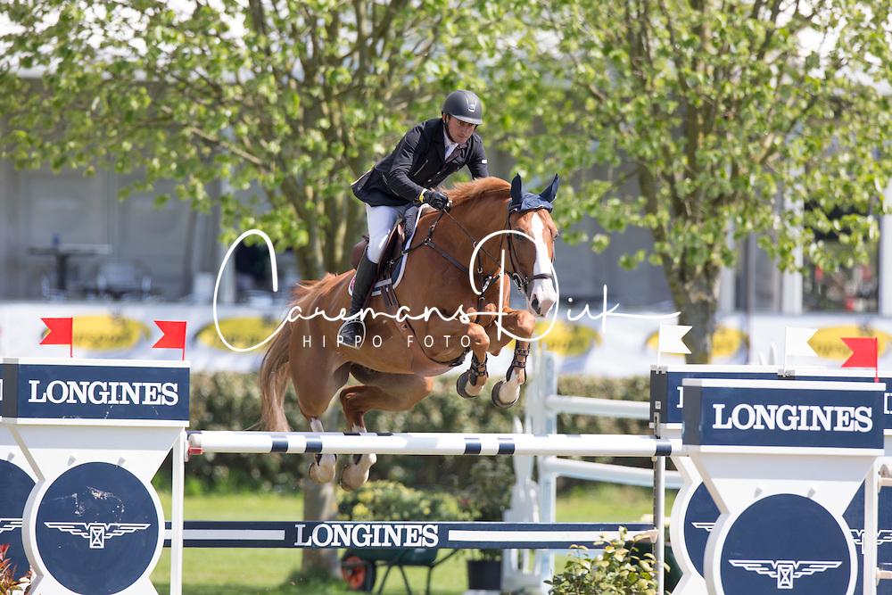 Whitaker William, (GBR), Glenavadra Brilliant <br /> Prijs Stephex<br /> Longings Spring Classic of Flanders - Lummen 2015<br /> &copy; Hippo Foto - Dirk Caremans<br /> 30/04/15