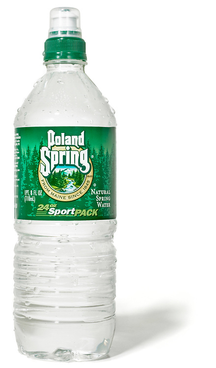 poland spring bottle of spring water