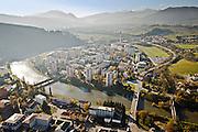 Dolný Kubín, Aerial view, letecký pohľad, Orava, let, panoráma