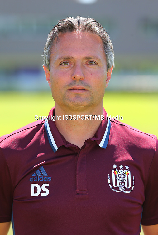 20160719 - Brussels , Belgium / PHOTOSHOOT RSC ANDERLECHT 2016-2017 / <br /> David SESA (Assistant coach)<br /> SOCCER / FOOTBALL / VOETBAL / PLOEGVOORSTELLING / TEAM PRESENTATION / PHOTO D'EQUIPE / PLOEGFOTO / TEAM PICTURE / FOTOSHOOT / RSCA / <br /> PICTURE BY VINCENT VAN DOORNICK /  ISOSPORT