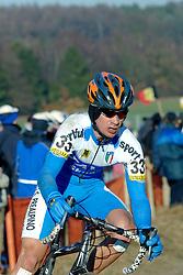 29-01-2006 WIELRENNEN: UCI CYCLO CROSS WERELD KAMPIOENSCHAPPEN ELITE: ZEDDAM <br /> Davide Frattini (ITA)<br /> ©2006-WWW.FOTOHOOGENDOORN.NL