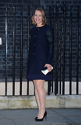 Winter Olympian Lizzy Yarnold arrives at 10 Downing Street, London, UK, for a reception to celebrate inspirational women.<br />  Thursday, 6th March 2014. Picture by Ben Stevens / i-Images
