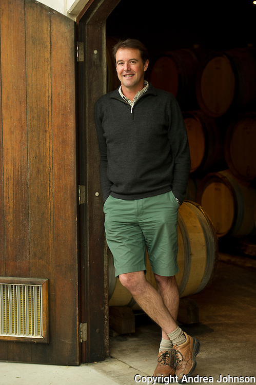 Blair Walter, winemaker, Felton Road, Central Otago, New Zealand