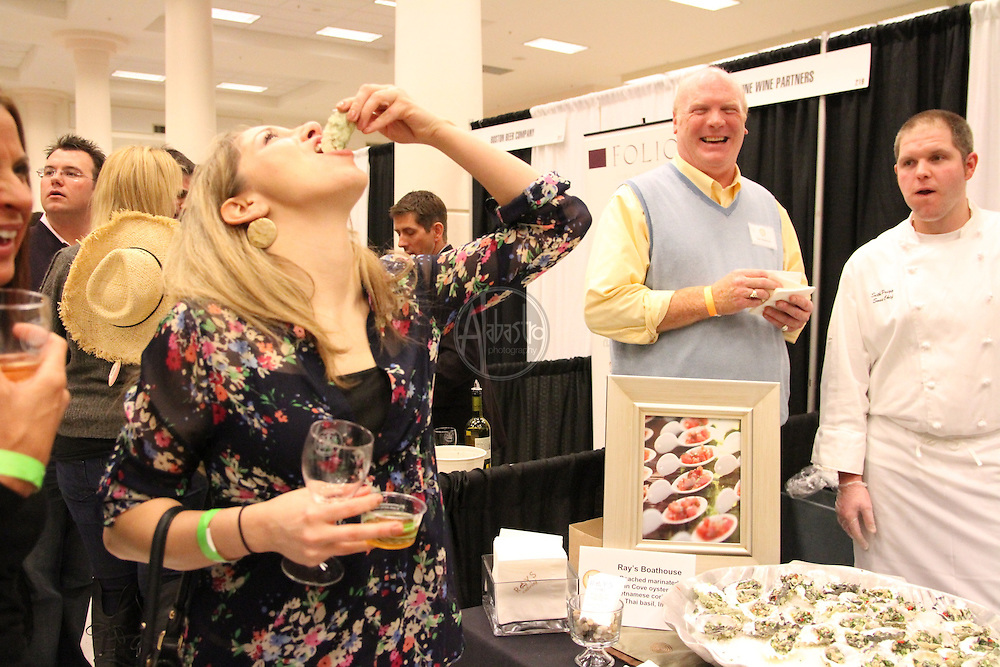 Seattle Food and Wine Experience 2011 at the Seattle Center Exhibition Hall.