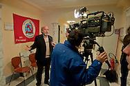 Roma, 14 Gennaio 2013.Presentate oggi alla stampa Marco Ferrando, candidato premier  alle elezioni politiche  per il Partito Comunista dei lavoratori......