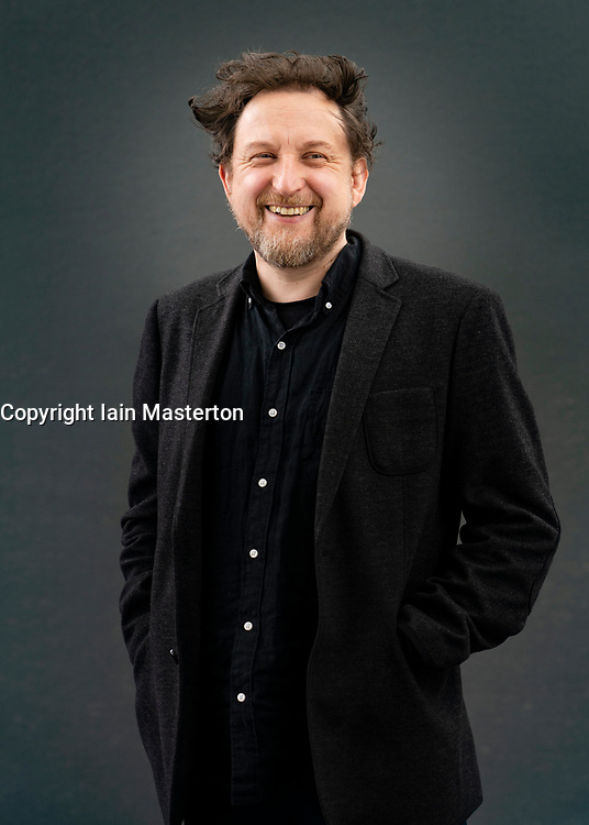 Edinburgh, Scotland, UK. 22 August 2019. Ewan Morrison at Edinburgh International Book Festival 2019. Scottish writer Ewan Morrison returns to novel-writing with Nina X a story of a girls' imprisonment in a London flat by a monstrous leader. Iain Masterton/Alamy Live News.