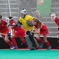 France v Russia OQT Belgium women 2012