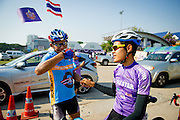Tour of Thailand 2015/ Stage4/ Mukdahan - Nakhon<br /> Phanom/ Thai