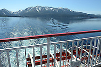 MS Dixie II, paddle steamer, moored, Zephyr Cove, Nevada, USA, is the largest vessel on South Lake Tahoe. The lake itself is split vertically between Nevada in the East and California in the West. It traverses the lake from Zephyr Cove to Emerald Bay in California. 201304261905<br /> <br /> Copyright Image from Victor Patterson, 54 Dorchester Park, Belfast, UK, BT9 6RJ<br /> <br /> Tel: +44 28 9066 1296<br /> Mob: +44 7802 353836<br /> Voicemail +44 20 8816 7153<br /> Skype: victorpattersonbelfast<br /> Email: victorpatterson@me.com<br /> Email: victorpatterson@ireland.com (back-up)<br /> <br /> IMPORTANT: If you wish to use this image or any other of my images please go to www.victorpatterson.com and click on the Terms & Conditions. Then contact me by email or phone with the reference number(s) of the image(s) concerned.