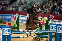 THIEME Andre (GER), Crazy Girl V<br /> Neustadt-Dosse - CSI 2019<br /> Championat von Neustadt-Dosse<br /> Preis der Deutschen Kreditbank AG<br /> 12. Januar 2019<br /> © www.sportfotos-lafrentz.de/Stefan Lafrentz
