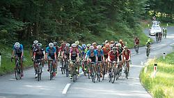 08.07.2015, Villach, AUT, Österreich Radrundfahrt, 4. Etappe, Gratwein Stift Rein nach Villacher Alpenstraße am Dobratsch, im Bild Die Spitzengruppe im Anstieg Dobratsch, Ktn // the maingroup at Dobratsch climb during the Tour of Austria, 4rd Stage, from Gratwein Stift Rein to Villacher Alpenstrasse at Dobratsch, Villach, Austria on 2015/07/08. EXPA Pictures © 2015, PhotoCredit: EXPA/ Reinhard Eisenbauer