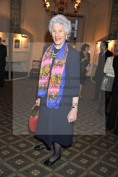 MARIA CARMELA, VISCOUNTESS HAMBLEDEN at a private view of The Secret Garden and A Little Princess an exhibition of original watercolours by Graham Rust held at St.Wilfrid's Hall, The Brompton Oratory, London on 2nd October 2012.
