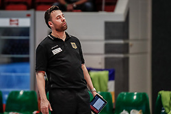 16.05.2019, Montreux, SUI, Montreux Volley Masters 2019, Deutschland vs Polen, im Bild Nicki Neubauer (Germany Headcoach) // during the Montreux Volley Masters match between Germany and Poland in Montreux, Switzerland on 2019/05/16. EXPA Pictures © 2019, PhotoCredit: EXPA/ Eibner-Pressefoto/ beautiful sports/Schiller<br /> <br /> *****ATTENTION - OUT of GER*****