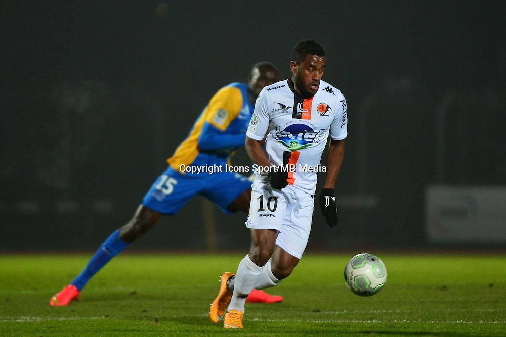 Cesar ZEOULA - 23.01.2015 - Creteil / Laval - 21eme journee de Ligue 2<br /> Photo : Dave Winter / Icon Sport