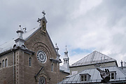 Chapelle des Ursulines, at the intersection of Rue des Jardins and Rue Donnacon, Quebec, Canada.
