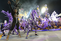 """Dancers of """"Rosas de Ouro"""" perform during the first night of samba schools carnival parade at Anhembi Sambadrome in Sao Paulo, Brazil, on Feb. 14, 2015. EXPA Pictures © 2015, PhotoCredit: EXPA/ Photoshot/ [e]Rahel Patrasso<br /> <br /> *****ATTENTION - for AUT, SLO, CRO, SRB, BIH, MAZ only*****"""