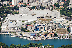 21.06.2015, Zadar, CRO, Zadar liegt im Süden Kroatiens in Norddalmatien. Zadar ist eine Hafenstadt und ein Seebad an der Adria mit 75.062 Einwohnern, im Bild Zadar is a 5th largest city in Croatia situated on Dalmatian coast. It is the centre of Zadar County and the wider northern Dalmatian region. Zadar is known for the Roman and Venetian ruins of its peninsular old town, including several Venetian gates in the city walls. EXPA Pictures © 2015, PhotoCredit: EXPA/ Pixsell/ Dino Stanin<br /> <br /> *****ATTENTION - for AUT, SLO, SUI, SWE, ITA, FRA only*****