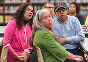 Houston ISD Bond Community meeting at Scarborough High School, March 30, 2016.