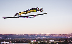 29.09.2018, Energie AG Skisprung Arena, Hinzenbach, AUT, FIS Ski Sprung, Sommer Grand Prix, Hinzenbach, im Bild Evgeniy Klimov (RUS) // Evgeniy Klimov of Russian Federation during FIS Ski Jumping Summer Grand Prix at the Energie AG Skisprung Arena, Hinzenbach, Austria on 2018/09/29. EXPA Pictures © 2018, PhotoCredit: EXPA/ Stefanie Oberhauser