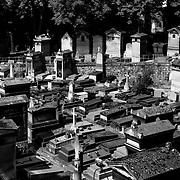 Paris Cemeteries--In Monochrome
