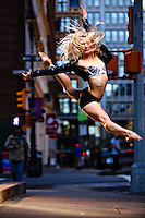 Dance As Art New York City Photography Project SoHo Series with dancer,