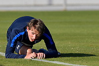 Fotball<br /> Belgia<br /> Foto: PhotoNews/Digitalsport<br /> NORWAY ONLY<br /> <br /> SAN PEDRO DEL PINATAR, SPAIN - JANUARY 9 : Sander Berge midfielder of KRC Genk pictured during a training session of KRC Genk on day 4 of their training camp in Spain on January 09, 2017 in San Pedro Del Pinatar, Spain, 8/01/2017