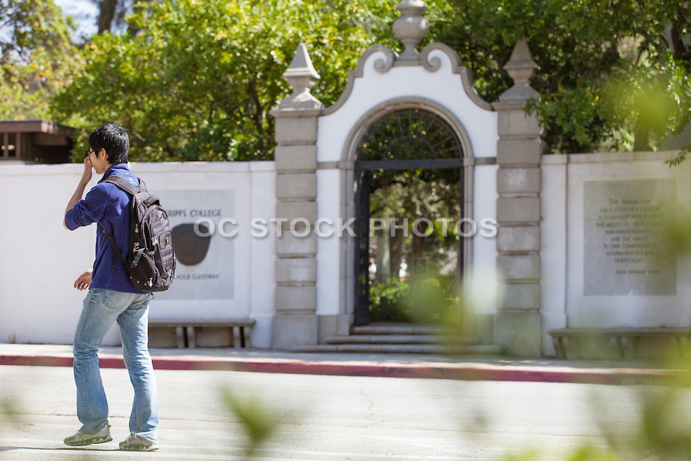 Scripps College Honnold Gateway in Claremont California