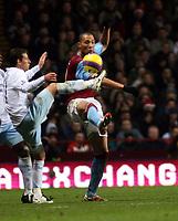 Photo: Mark Stephenson/Sportsbeat Images.<br /> Aston Villa v Manchester City. The FA Barclays Premiership. 22/12/2007.Vills'a John Carew