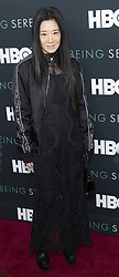 April 25, 2018 - New York, New York, United States - Vera Wang attends premiere HBO documentary Being Serena at Time Warner Center (Credit Image: © Lev Radin/Pacific Press via ZUMA Wire)