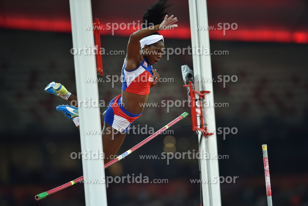 26-08-2015 CHN: IAAF World Championships Athletics day 5, Beijing<br /> Yarisley Silva CUB<br /> Photo by Ronald Hoogendoorn / Sportida