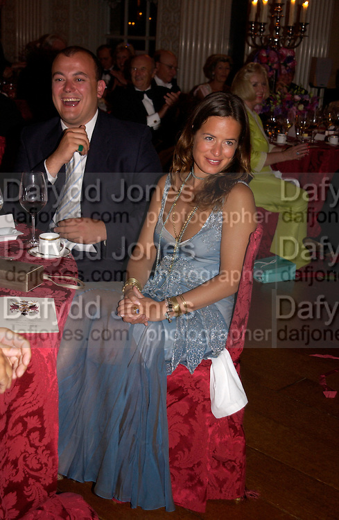 Jade Jagger, Ball at Blenheim Palace in aid of the Red Cross, Woodstock, 26 June 2004. SUPPLIED FOR ONE-TIME USE ONLY-DO NOT ARCHIVE. © Copyright Photograph by Dafydd Jones 66 Stockwell Park Rd. London SW9 0DA Tel 020 7733 0108 www.dafjones.com