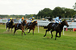 Maybellene ridden by Hayley Turner and trained by George Scott in the Sds Maiden Auction Stakes race. Simply Susan ridden by Georgia Dobie and trained by Eve Johnson Houghton in the Sds Maiden Auction Stakes race. Maybellene ridden by Hayley Turner and trained by George Scott in the Sds Maiden Auction Stakes race. Audio ridden by Thore Hammer Hansen and trained by Richard Hannon in the Sds Maiden Auction Stakes race.  - Ryan Hiscott/JMP - 02/08/2019 - PR - Bath Racecourse - Bath, England - Race Meeting at Bath Racecourse