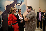 Lucinda Mellor, ( was  Lucinda Strummer) Tracey Emin and Julian Schnabel, private view for Julian Schnabel: Christ's Last Day Atto II - <br />