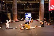"""Venice, Italy. 14th Architecture Biennale 2014, """"fundamentals"""".<br /> Arsenale. """"monditalia, a scan""""<br /> modern dance"""