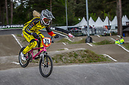 #53 (PRIES Nadja) GER during round 3 of the 2017 UCI BMX  Supercross World Cup in Zolder, Belgium,