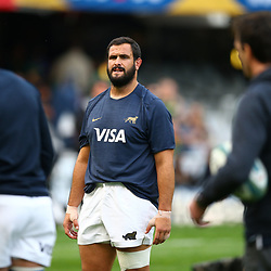 DURBAN, SOUTH AFRICA - AUGUST 18: Juan Figallo of Argentina during the Rugby Championship match between South Africa and Argentina at Jonsson Kings Park on August 18, 2018 in Durban, South Africa. (Photo by Steve Haag/Gallo Images)