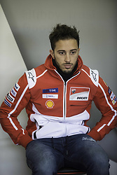 November 15, 2017 - Valencia, Valencia, Spain - 4 Andrea Dovizioso (Italian) Ducati Team during the tests of the new season, MotoGP 2018. Circuit of Ricardo Tormo,Valencia, Spain. Wednesday 15th of november 2017. (Credit Image: © Jose Breton/NurPhoto via ZUMA Press)