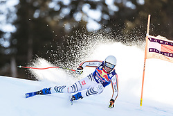 23.01.2020, Streif, Kitzbühel, AUT, FIS Weltcup Ski Alpin, Abfahrt, Herren, 2. Training, im Bild Romed Baumann (GER) // Romed Baumann of Germany in action during his 2nd training run for the men's Downhill of FIS Ski Alpine World Cup at the Streif in Kitzbühel, Austria on 2020/01/23. EXPA Pictures © 2020, PhotoCredit: EXPA/ Johann Groder