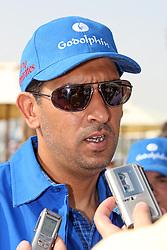 File Photo: Trainer Mahmood Al Zarooni in portrait at Meydan racecourse, Dubai, United Arab Emirates. Photo taken March 29, 2012. Tuesday, April 23, 2013. Photo by: Racingfotos.com / i-Images. .