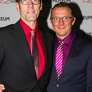 NLD/Amsterdam/201400219 - Premiere 12 Years a Slave , Hans Schiffers en partner Rob Sol