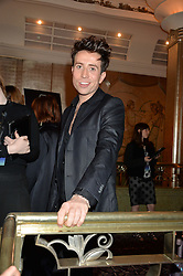 NICK GRIMSHAW at the WGSN Global Fashion Awards 2015 held at The Park Lane Hotel, Piccadilly, London on 14th May 2015.