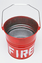 Dec. 14, 2012 - Fire bucket (Credit Image: © Image Source/ZUMAPRESS.com)