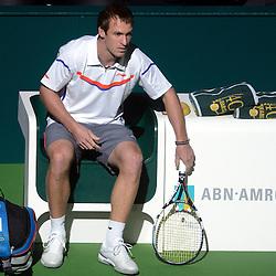 20130213: NED, Tennis - ABN AMRO World Tennis Tournament, Roger Federer vs Grega Zemlja