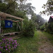 Entrance to Cloudbridge Nature Reserve adjacent to Chirripo National Park, Costa Rica.