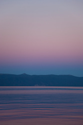 """""""Sunset at Lake Tahoe 8"""" - This peaceful sunset was photographed from the West shore of Lake Tahoe, California."""