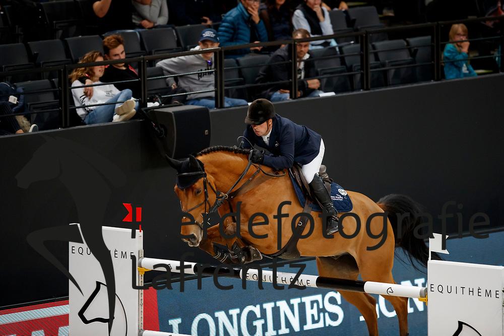 WHITAKER, Robert (GBR), Cash Sent<br /> Paris - FEI World Cup Finals 2018<br /> Grand Prix / Grosser Preis<br /> www.sportfotos-lafrentz.de/Stefan Lafrentz<br /> 15. April 2018