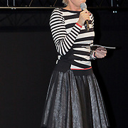 NLD/Amsterdam/20111012 - Opening cinekids 2011 festival door Prinses Maxima en kroonprins Willem - Alexander, isolde Hallesleben
