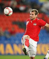 Fussball International Laenderspiel Oesterreich - Venezuela Roman Wallner (AUT)
